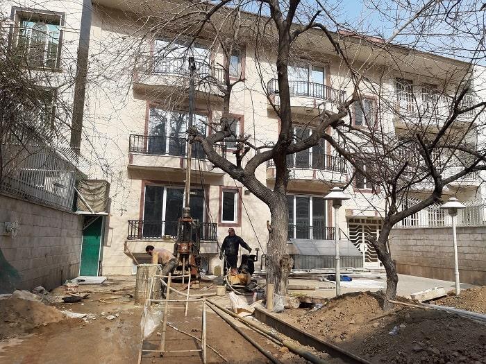 پروژه آزمایش خاک منطقه دروس تهران